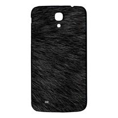Black Cat Fur Samsung Galaxy Mega I9200 Hardshell Back Case by trendistuff