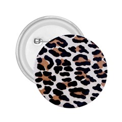 Black And Brown Leopard 2 25  Buttons by trendistuff