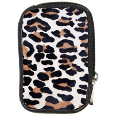 Black And Brown Leopard Compact Camera Cases by trendistuff