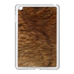 BEAR FUR Apple iPad Mini Case (White)