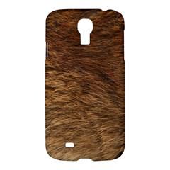 Bear Fur Samsung Galaxy S4 I9500/i9505 Hardshell Case by trendistuff