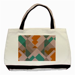 Pieces Basic Tote Bag (two Sides) by LalyLauraFLM