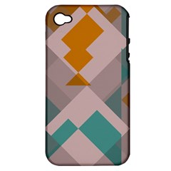 Pieces Apple Iphone 4/4s Hardshell Case (pc+silicone) by LalyLauraFLM