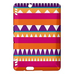 Stripes And Peaks Kindle Fire Hdx Hardshell Case by LalyLauraFLM
