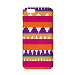 Stripes And Peaks Apple Iphone 6 Hardshell Case by LalyLauraFLM