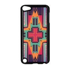 Tribal Star Apple Ipod Touch 5 Case (black) by LalyLauraFLM