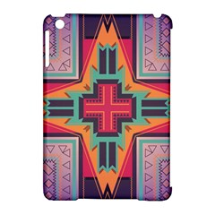 Tribal Star Apple Ipad Mini Hardshell Case (compatible With Smart Cover) by LalyLauraFLM