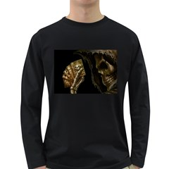 Dead Mans Hand Long Sleeve Dark T Shirts