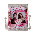 love - Drawstring Bag (Small)