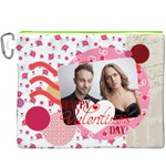 love - Canvas Cosmetic Bag (XXXL)