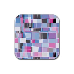 Patches Rubber Coaster (square) by LalyLauraFLM