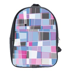 patches  School Bag (xl) by LalyLauraFLM