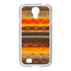 Fading Shapes Texture Samsung Galaxy S4 I9500/ I9505 Case (white) by LalyLauraFLM