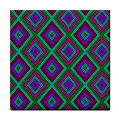 Diamond Pattern  Tile Coasters by LovelyDesigns4U