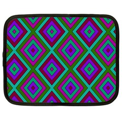 Diamond Pattern  Netbook Case (large) by LovelyDesigns4U