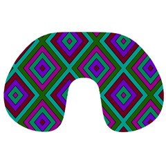 Diamond Pattern  Travel Neck Pillows by LovelyDesigns4U