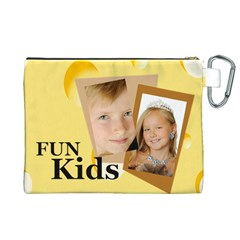 Kids By Kids   Canvas Cosmetic Bag (xl)   Qde4xlr8dxo7   Www Artscow Com Back