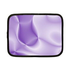 Colors In Motion, Lilac Netbook Case (small)  by MoreColorsinLife