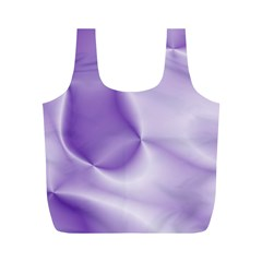 Colors In Motion, Lilac Full Print Recycle Bags (m)  by MoreColorsinLife