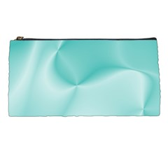 Colors In Motion,teal Pencil Cases by MoreColorsinLife