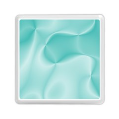 Colors In Motion,teal Memory Card Reader (square)  by MoreColorsinLife
