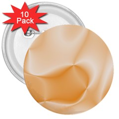 Colors In Motion,peach 3  Buttons (10 pack)  by MoreColorsinLife