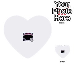 Collage Mousepad Multi Purpose Cards (heart)  by ramisahki