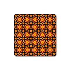 Cute Pretty Elegant Pattern Square Magnet by creativemom
