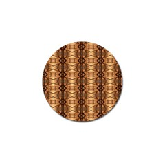 Faux Animal Print Pattern Golf Ball Marker (10 Pack) by creativemom