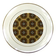Faux Animal Print Pattern Porcelain Plates by creativemom