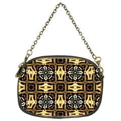Faux Animal Print Pattern Chain Purses (one Side)