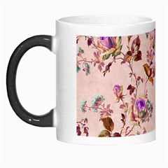 Antique Floral Pattern Morph Mug by LovelyDesigns4U
