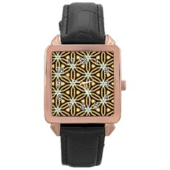 Faux Animal Print Pattern Rose Gold Watches by creativemom