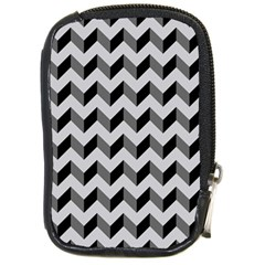 Modern Retro Chevron Patchwork Pattern  Compact Camera Cases by creativemom