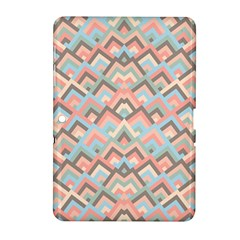 Trendy Chic Modern Chevron Pattern Samsung Galaxy Tab 2 (10 1 ) P5100 Hardshell Case  by creativemom
