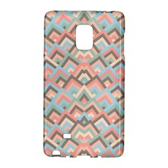 Trendy Chic Modern Chevron Pattern Galaxy Note Edge by creativemom