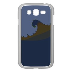 Ocean Waves Samsung Galaxy Grand Duos I9082 Case (white) by theunrulyartist