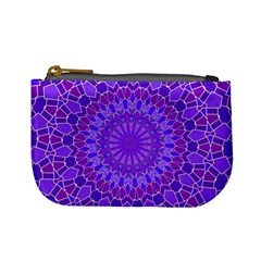 Purple Mandala Mini Coin Purses by LovelyDesigns4U