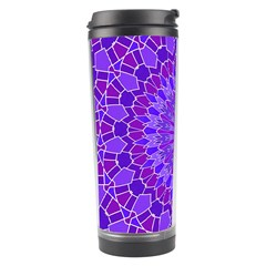 Purple Mandala Travel Tumblers