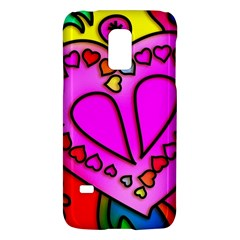 Colorful Modern Love Galaxy S5 Mini