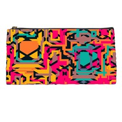 Colorful Shapes Pencil Case by LalyLauraFLM