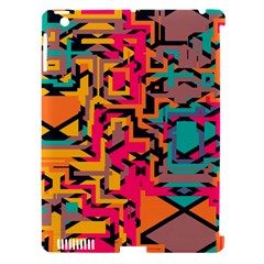 Colorful Shapes Apple Ipad 3/4 Hardshell Case (compatible With Smart Cover) by LalyLauraFLM