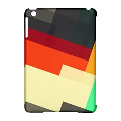 Miscellaneous Retro Shapes Apple Ipad Mini Hardshell Case (compatible With Smart Cover) by LalyLauraFLM