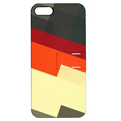 Miscellaneous Retro Shapes Apple Iphone 5 Hardshell Case With Stand by LalyLauraFLM