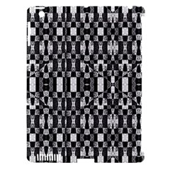 Black And White Geometric Tribal Pattern Apple Ipad 3/4 Hardshell Case (compatible With Smart Cover) by dflcprints