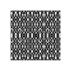 Black And White Geometric Tribal Pattern Acrylic Tangram Puzzle (4  X 4 ) by dflcprints