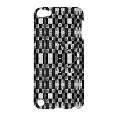 Black And White Geometric Tribal Pattern Apple Ipod Touch 5 Hardshell Case by dflcprints