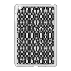 Black And White Geometric Tribal Pattern Apple Ipad Mini Case (white) by dflcprints