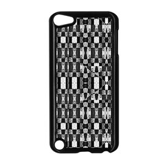 Black And White Geometric Tribal Pattern Apple Ipod Touch 5 Case (black) by dflcprints