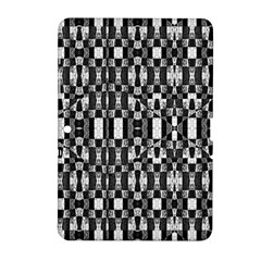 Black And White Geometric Tribal Pattern Samsung Galaxy Tab 2 (10 1 ) P5100 Hardshell Case  by dflcprints
